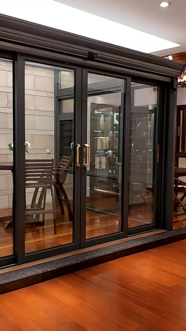 Electric Sliding Doors : Phonpa bottom roller sliding door automatic doors
