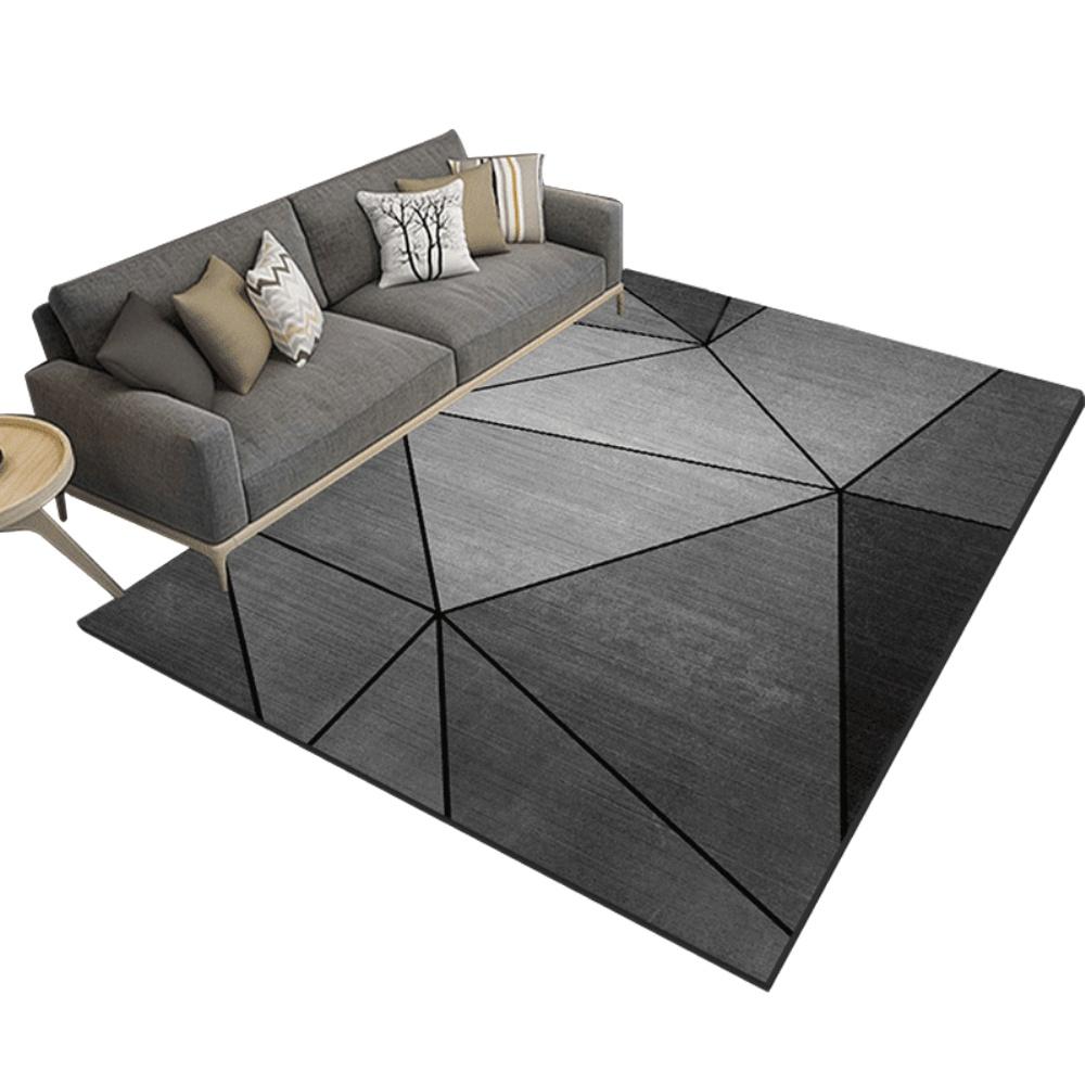 北欧风ins客厅卧室简约沙发茶几毯怎么样
