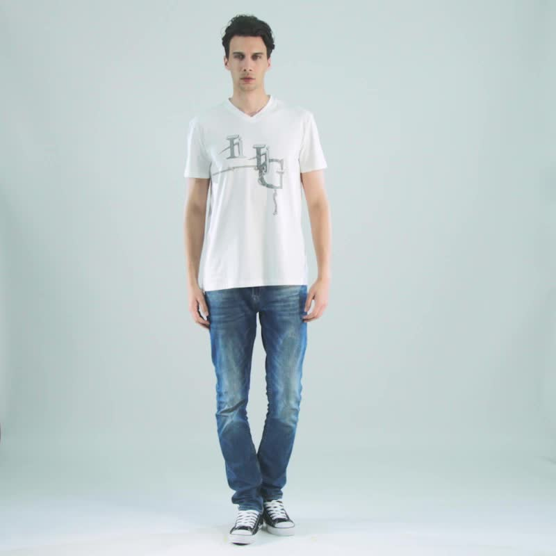 Red vintage washed wholesale slim fit t shirt for men for Cheap slim fit shirts