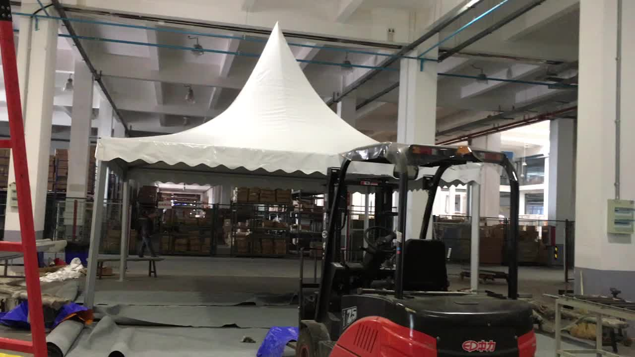 GSX-4 manufacture tents for events aluminium pole 4x4 meter canopy