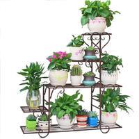 花架子多层室内家用阳台铁艺置物架用后评测