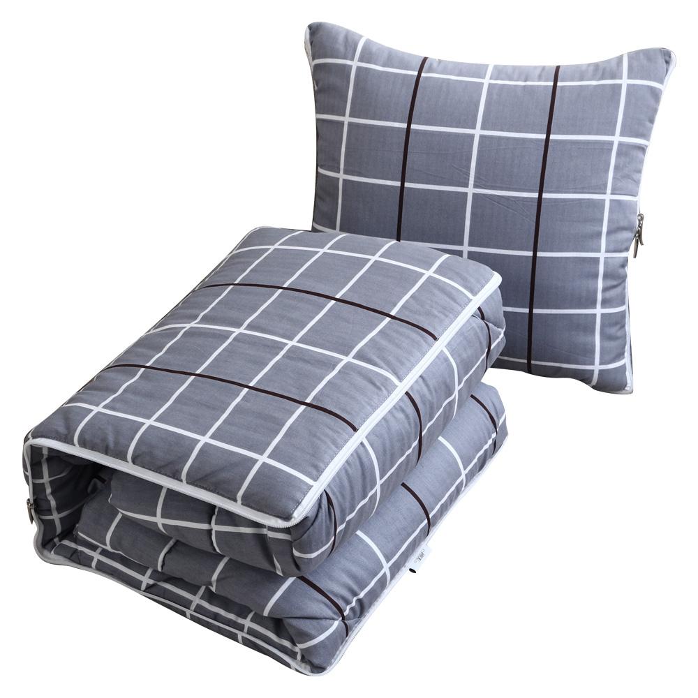 飞天北欧全棉抱枕被子两用被靠垫被质量好不好