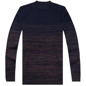 织云100纯羊毛加厚男套头针织衫