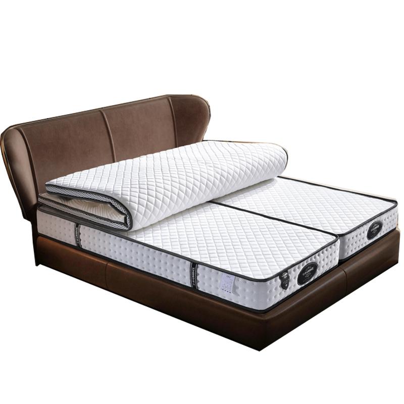 分体式伴侣式x2米2.2米床弹簧床垫性价比高吗