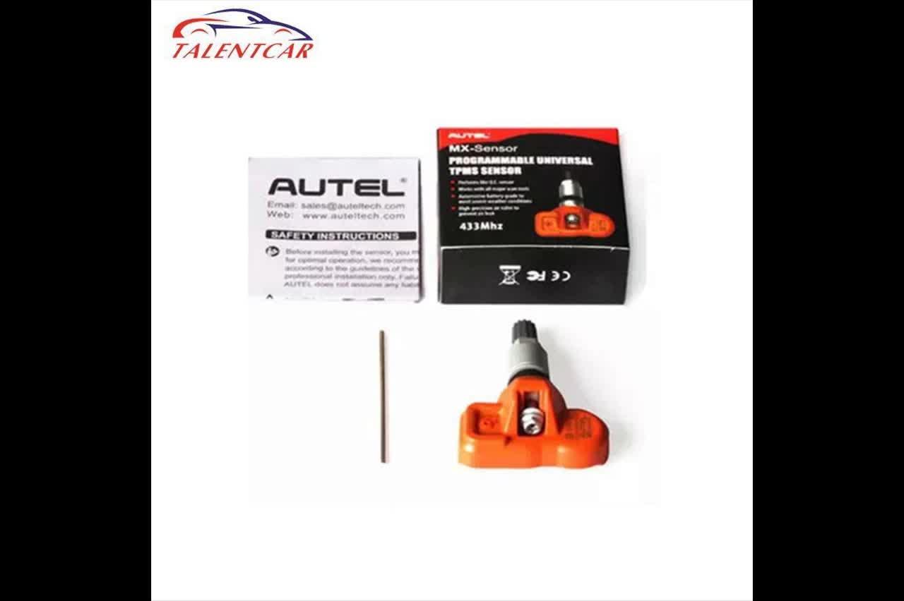 Autel MX-Sensor 433MHZ Universal Programmable TPMS Sensor Specially Built for Tire Pressure Sensor Replacement support TS601