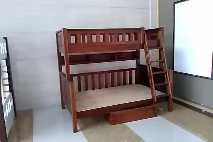 2017 New Solid Wooden Bunk Bed Design,Simple Double Decker ...