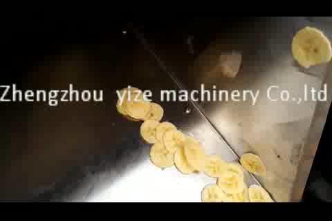 Endüstriyel/ticari sebze dilimleyici/muz ve patates dilimleme makinesi