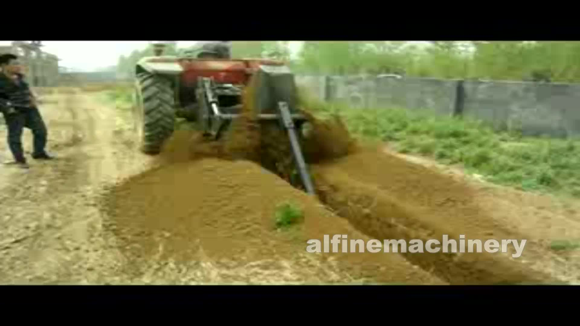 Hot sale garden trencher for tractor