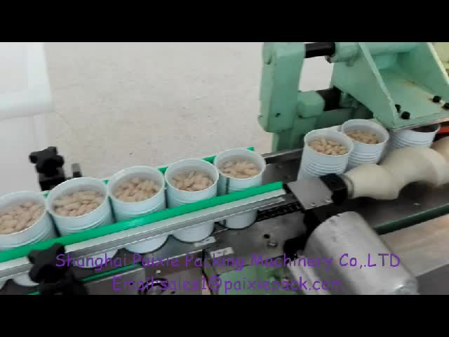 full automatic tin can food filling machine