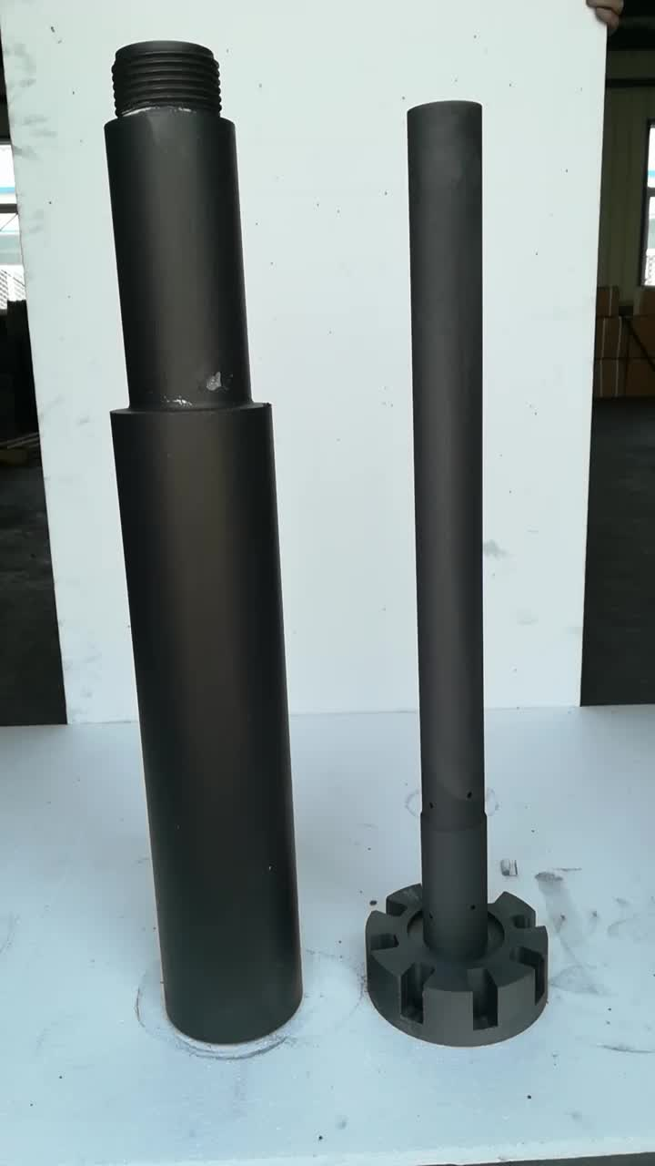 Graphite rotor/graphite impeller/graphite rotator for aluminium melting