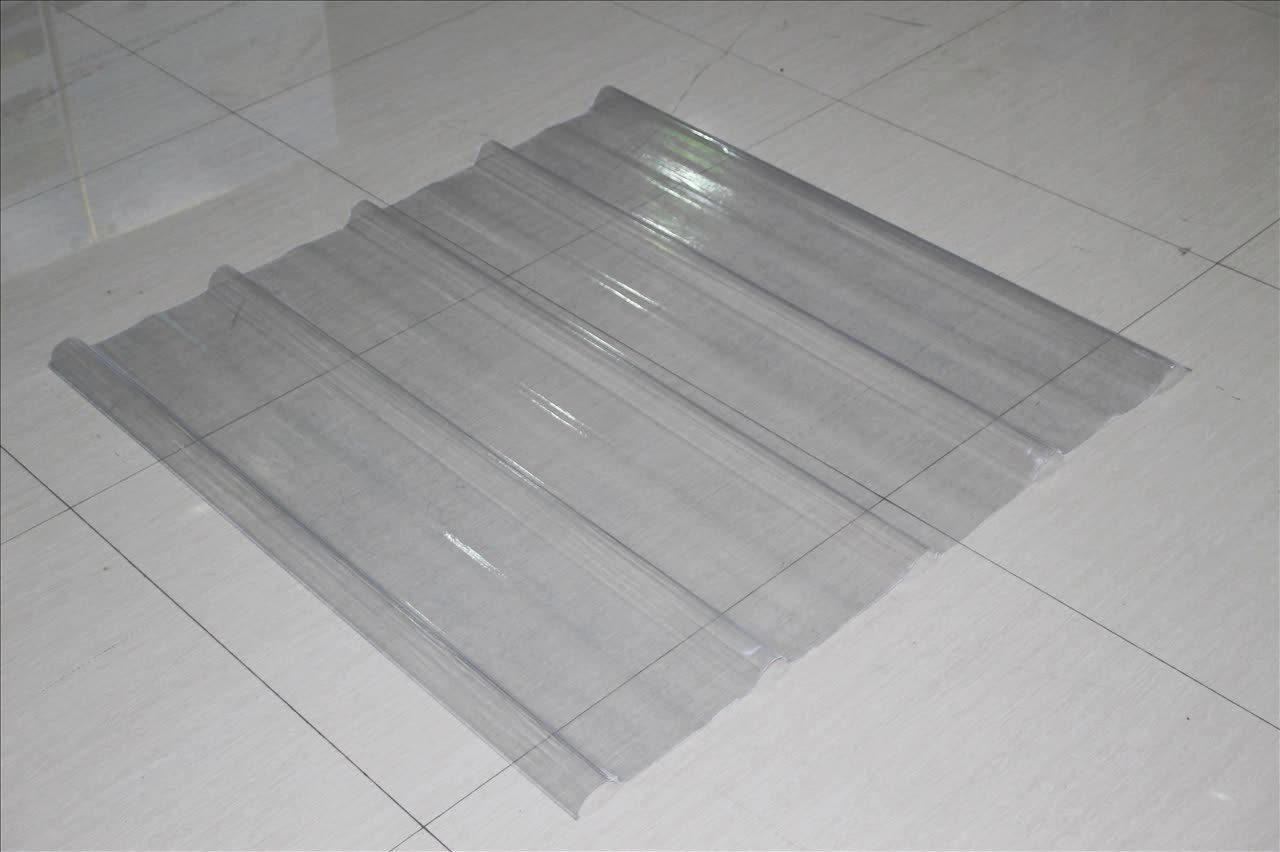 Fiberglass clear plastic roof covering buy clear roof for Roof covering materials