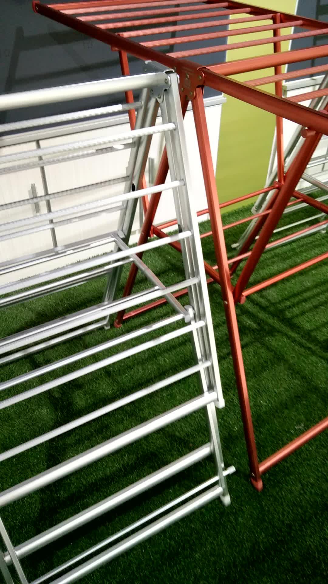 Adjustable Aluminium Clothe Drying Rack Aluminum Laundry