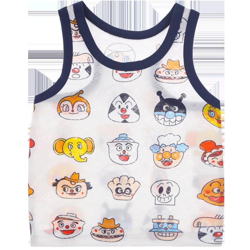 儿童背心套装夏季超薄透气男童婴儿跨栏女童宝宝幼儿秋冬内穿马甲