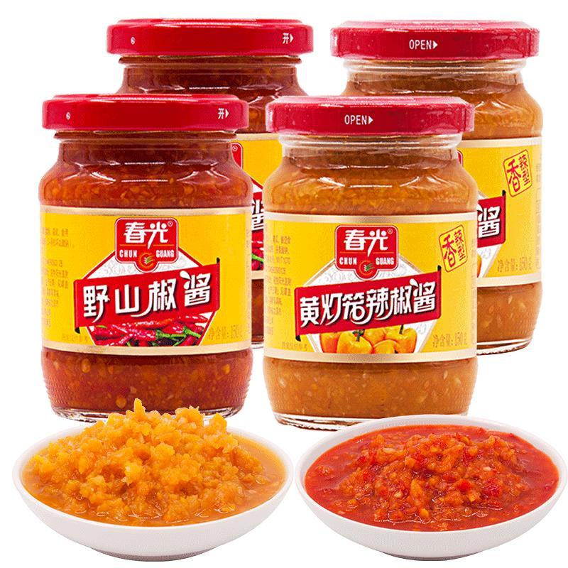 春光 黃燈籠辣椒醬 150g*4瓶 20元包郵
