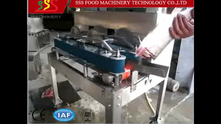 Hot selling fish fillet machine for tilapia trout salmon for Fish fillet machine