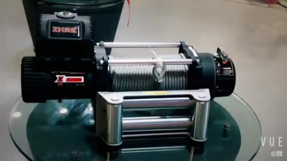 8500lbs capacity high speed 12v electric winch