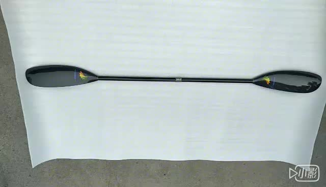High performance Carbon Fiber Wing Paddle Kayak With Oval Shaft In 10cm Length Adjustent