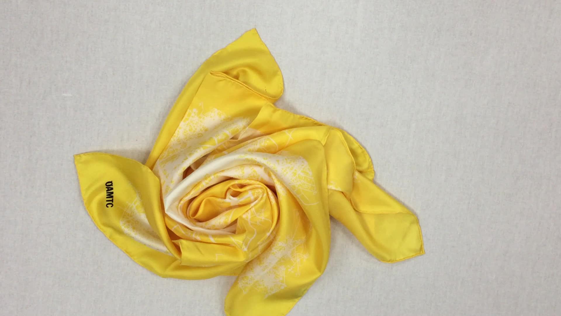 designer scarf wholesale china twill silk scarf