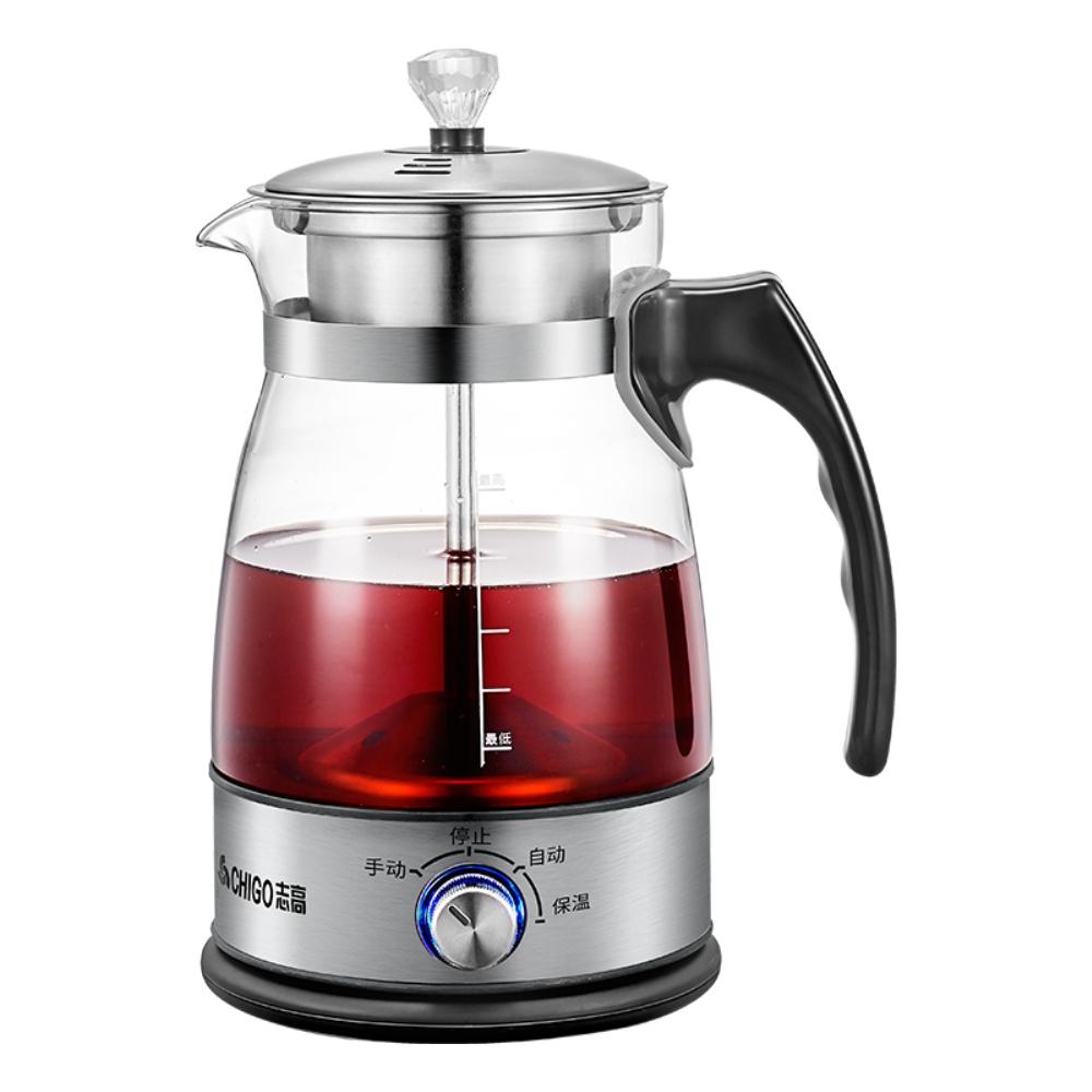 志高煮茶器全自动家用蒸汽煮茶壶黑茶普洱玻璃电热水壶保温蒸茶壶