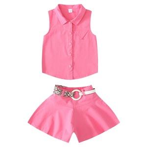 女童夏装2021新款儿童夏季洋气裙裤