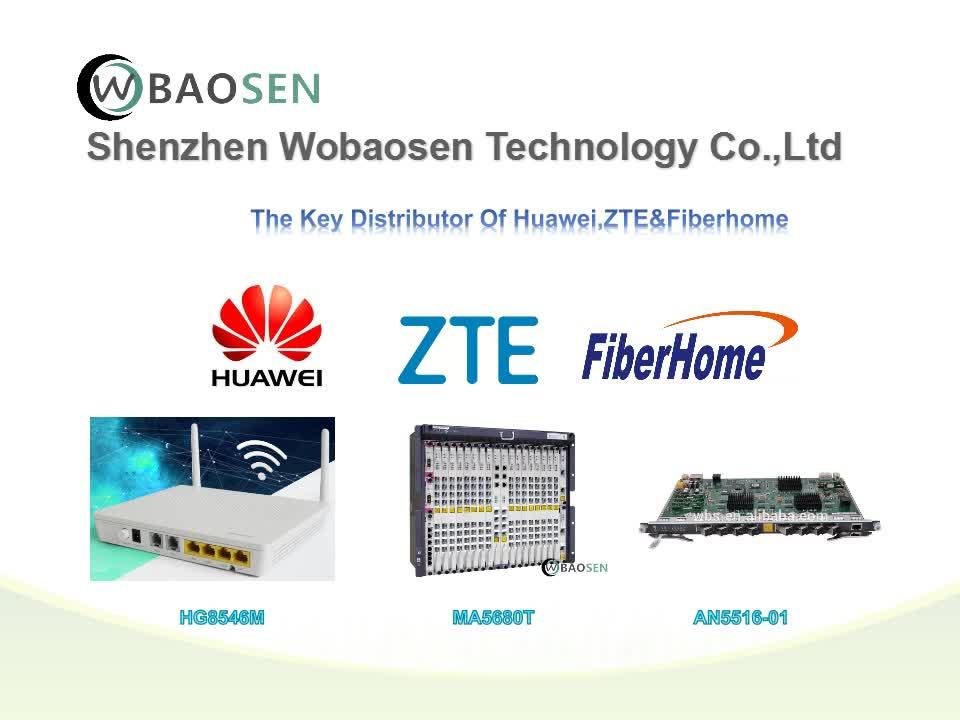 Orijinal Yeni Huawei Smartax MA5608T GPON OLT PON 8 Port 16 port kurulu 32 Bağlantı Noktasına 2U/GPBD 8 liman VEYA GPFD 16 port