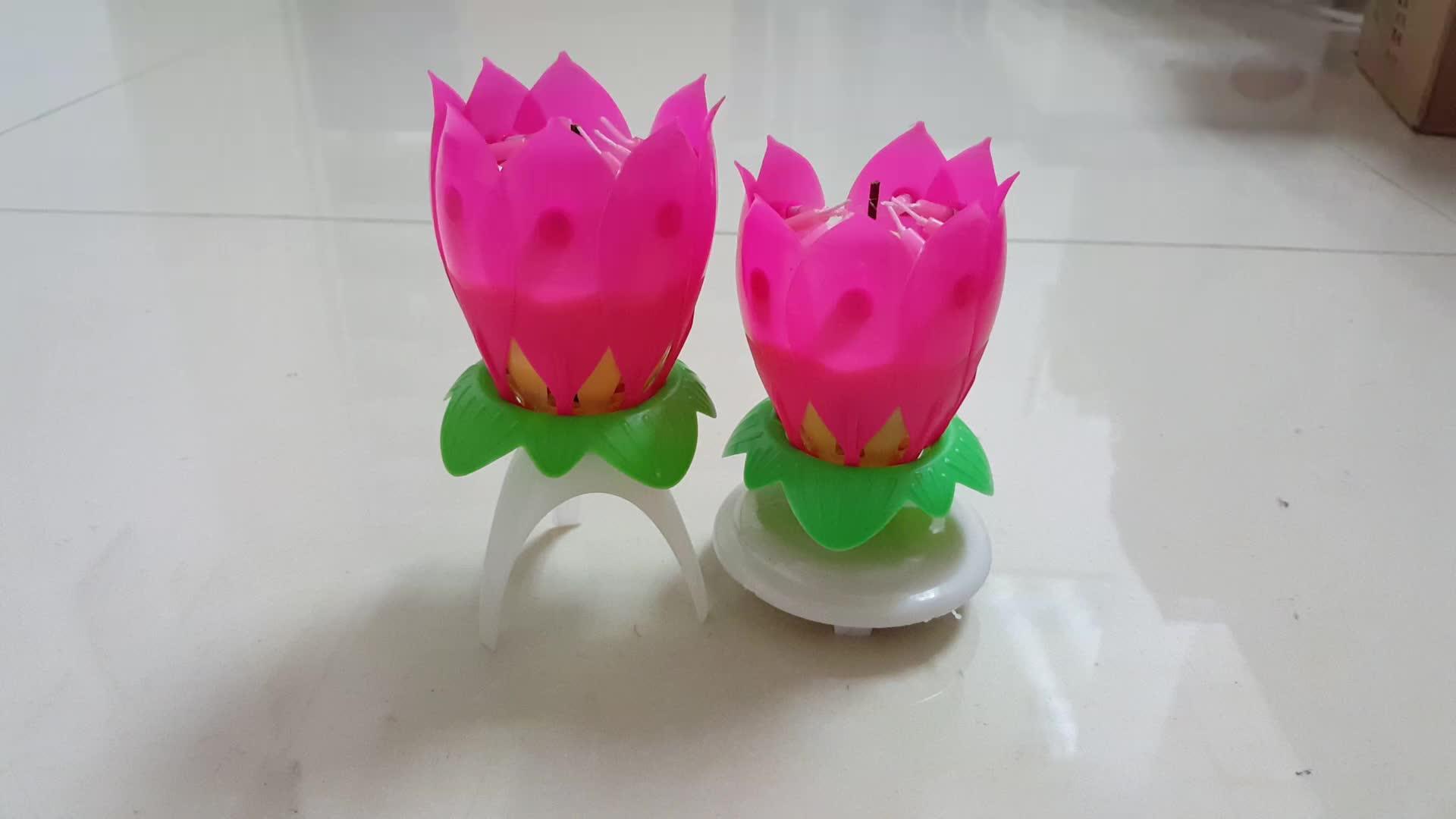 Lotus flower magic musical rotating birthday candle hot sale buy lotus flower magic musical rotating birthday candle hot sale izmirmasajfo