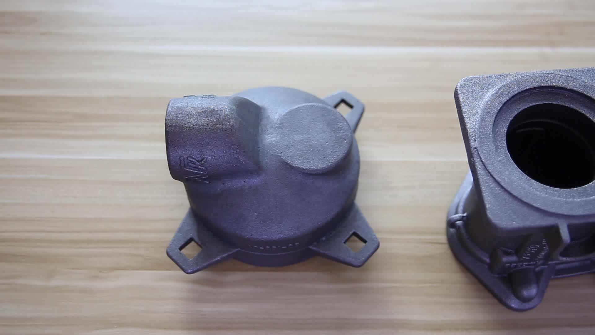 Yingshuo ISO9001 CMM Checking Resin Sand Casting Ductile Iron Pipe Fittings