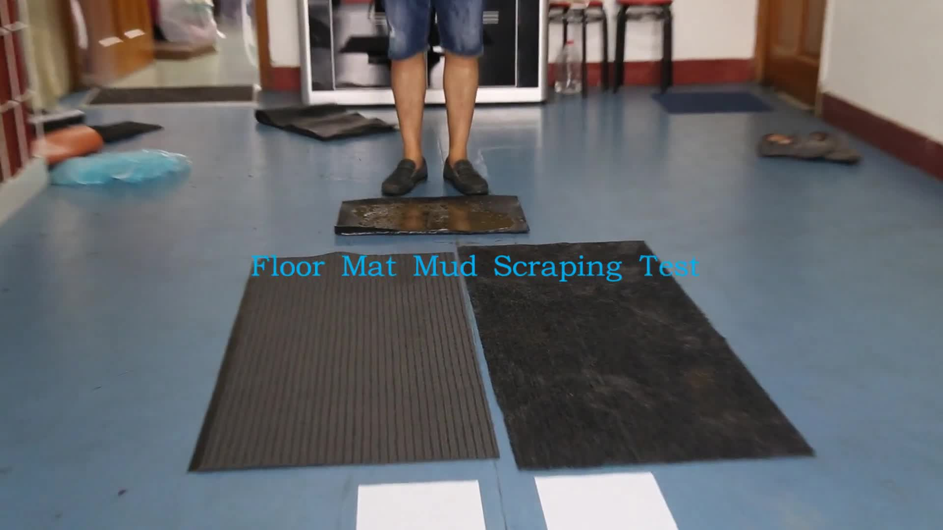 Hot selling office building use pvc blank door mat