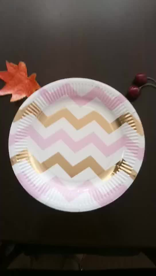 Zhejiang factory 13 years manufacturing paper plate and dona