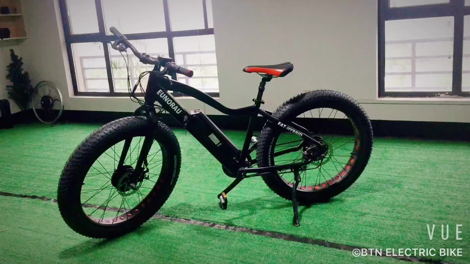Manufacturer Electric Bikes Two Hub Motors Bicycle Fat Tyre Tire