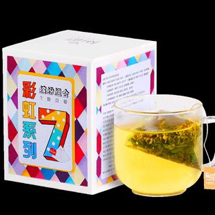 蜜桃乌龙茶茉莉绿茶桂花三角茶包
