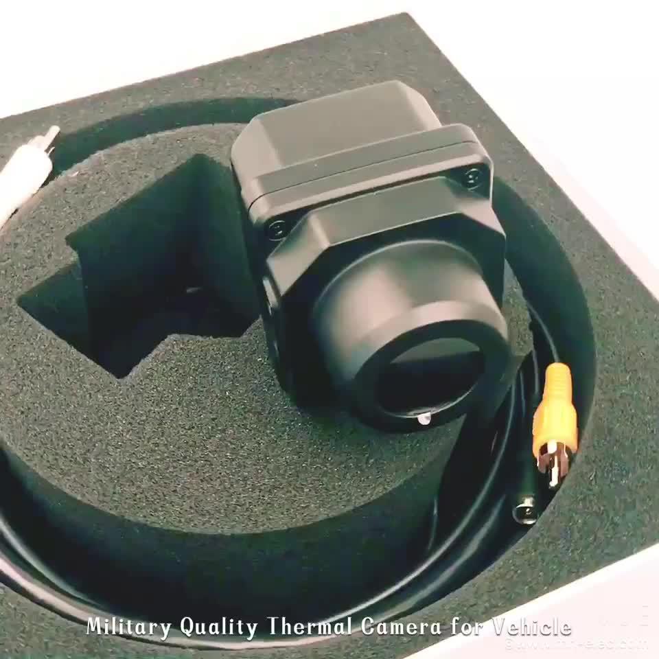 Monté sur véhicule de caméra thermique systèmes avancés d'assistance au conducteur caméra thermique de vision nocturne voiture caméra