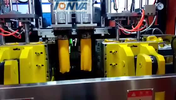 Hot sale full automatic plastic bottle making 5l hydraulic blow molding machine with CE certification