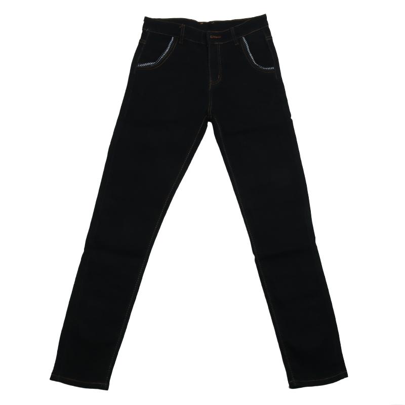 2021春季韩版修身型黑色弹力牛仔裤质量可靠吗