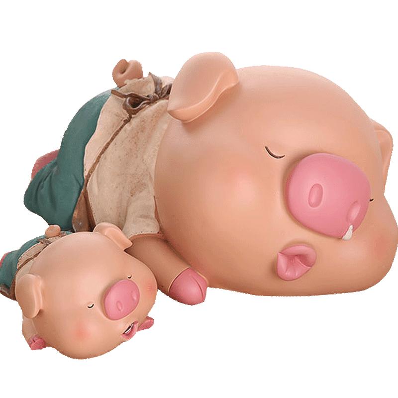 网红存钱罐ins风小猪创意抖音大容量不可取儿童储蓄储钱只进不出