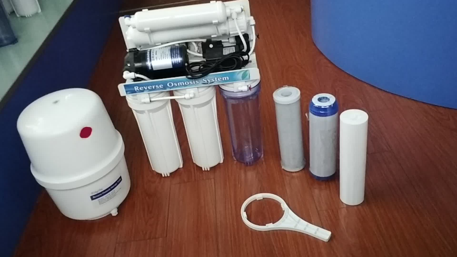 5-8 fase ro sistema di filtraggio dell'acqua per il trattamento dell'acqua