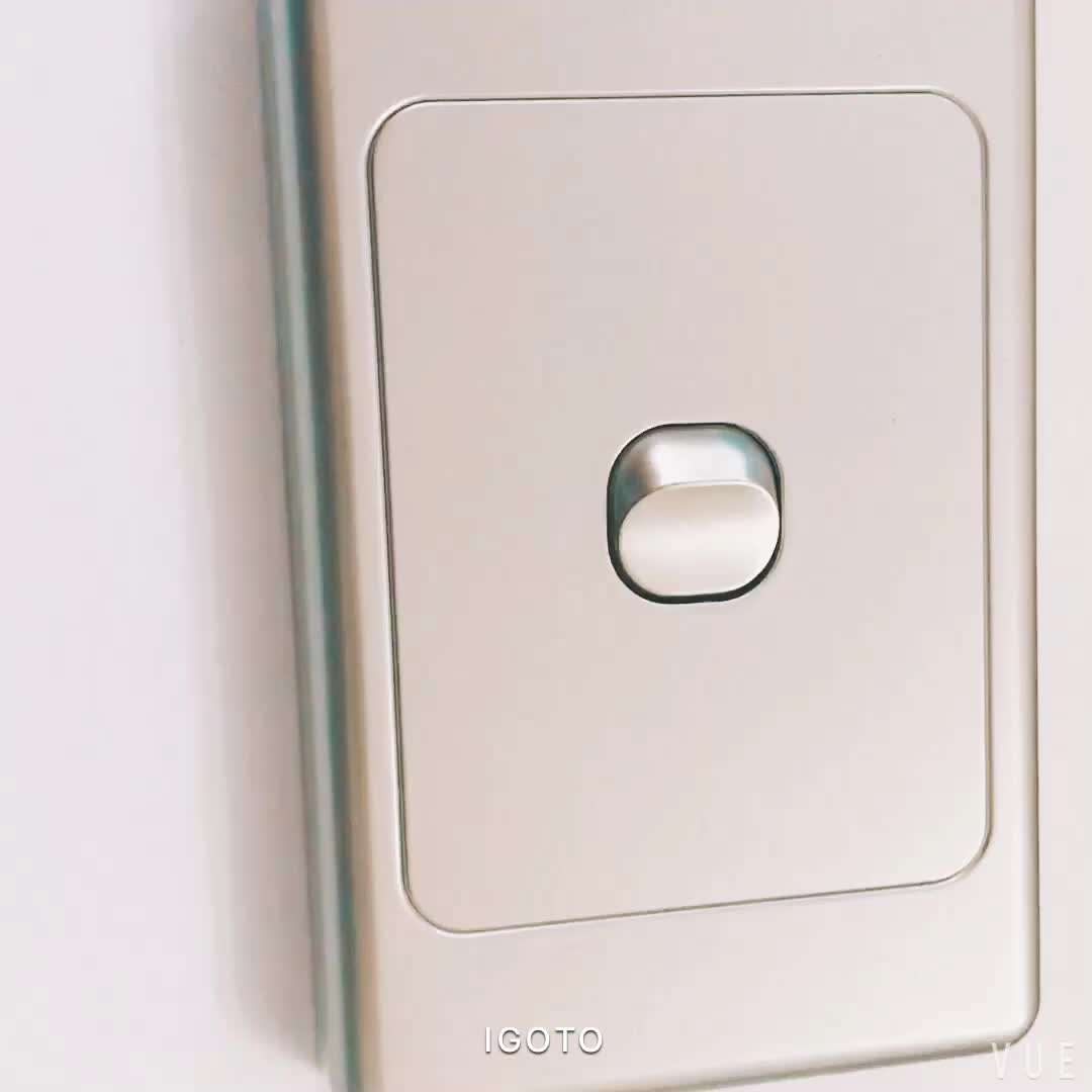 Plastic Switch Plate Covers Glamorous Australian Standard Brushed Stainless Steel Finish Wall Light Design Ideas