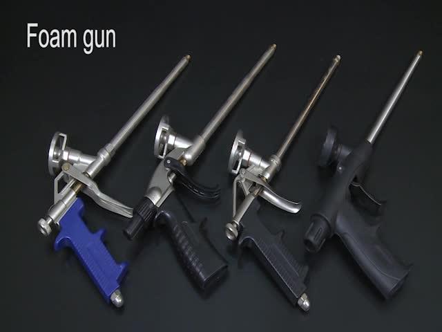 Heavy Duty Aluminium Teflon Beschichtung Pu-schaum-spray Dispensing Gun