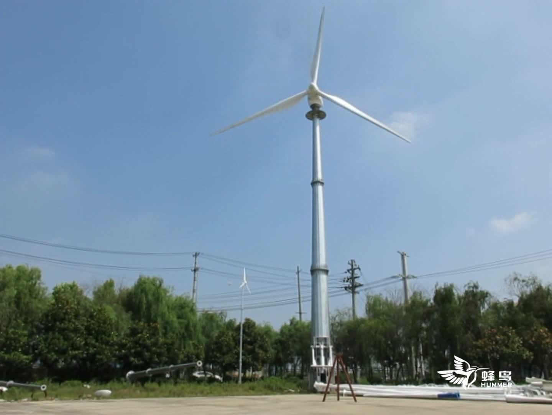 Low Speed Permanent Magnet HAWT Wind Turbine Generator 100KW
