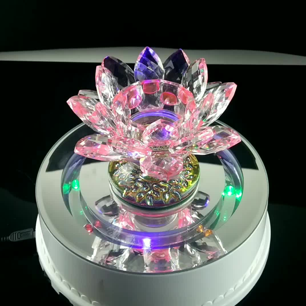 Wholesale crystal glass lotus flower shape candle holder for wedding wholesale crystal glass lotus flower shape candle holder for wedding table centerpieces izmirmasajfo