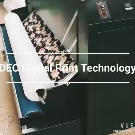 कस्टम नए डिजाइन के उच्च गुणवत्ता वाले डिजिटल मुद्रण लक्जरी मुद्रित रेशम के कपड़े