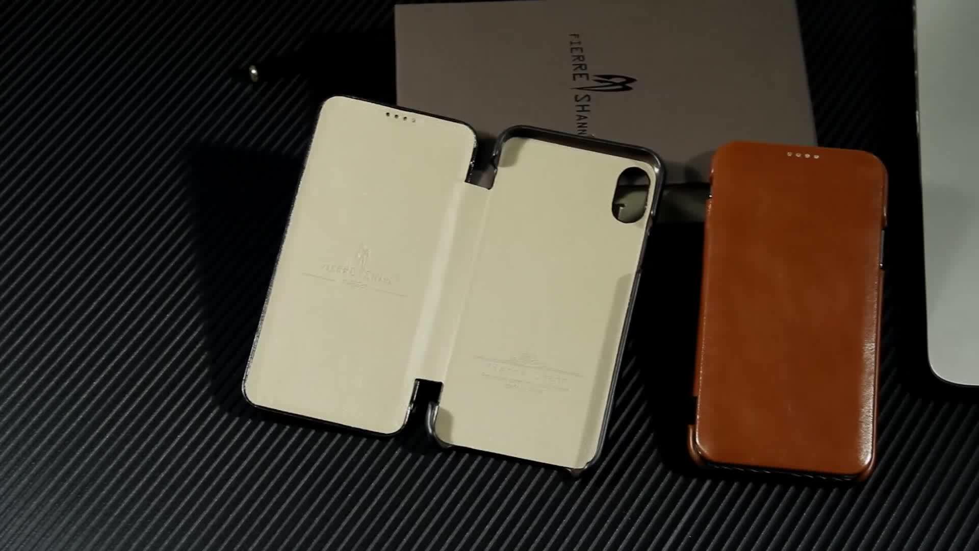 5332e3e6f5 Fierre Shann Genuine Leather Flip Case Cover For Apple Iphone 6 ...