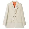 假两件外套春秋新款设计感小西服质量靠谱吗