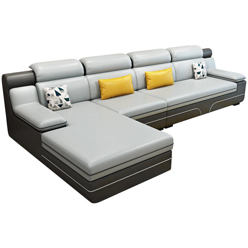 科技客厅家用小户型免洗布艺布沙发质量好不好