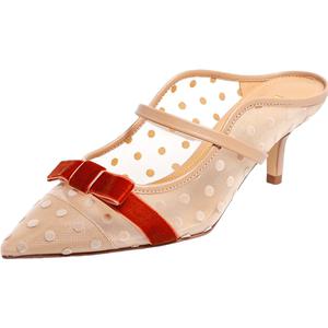 百丽莓莓仙女鞋穆勒2020高跟凉鞋
