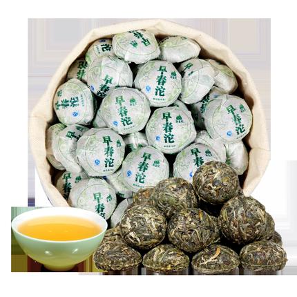 500g约90颗新益号2017春茶普洱茶