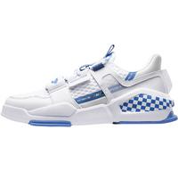 特步休闲鞋男2021年官网白色板鞋夏季男士鞋子透气网面运动鞋男鞋