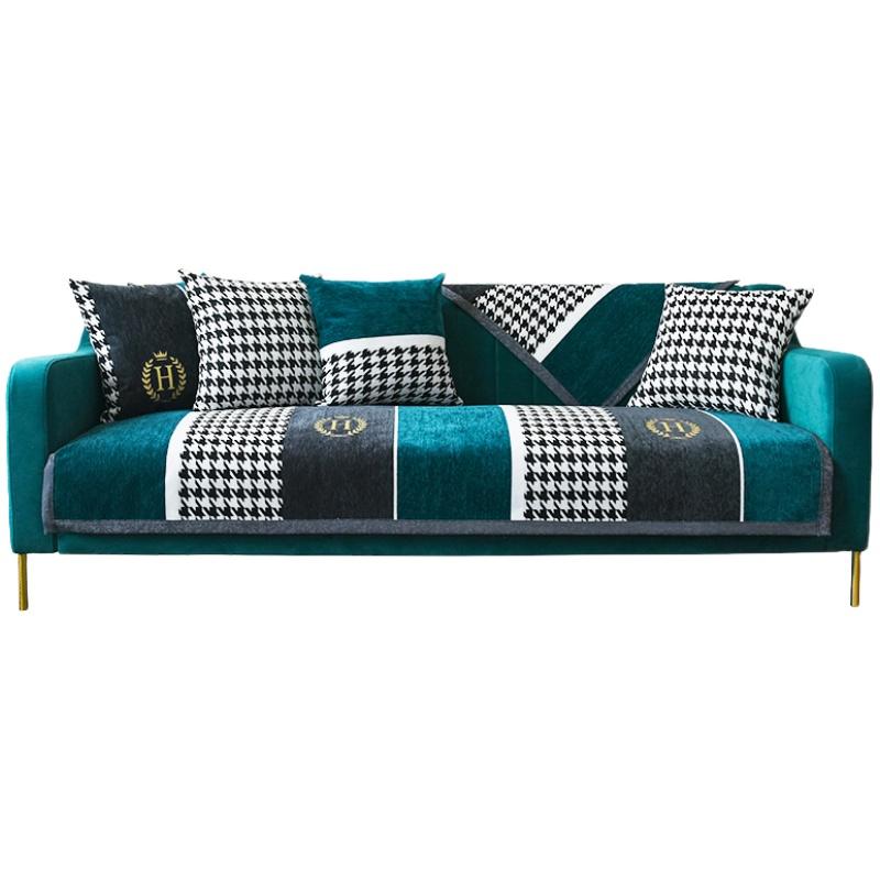 轻奢高档沙发垫四季雪尼尔风坐垫子评价好不好