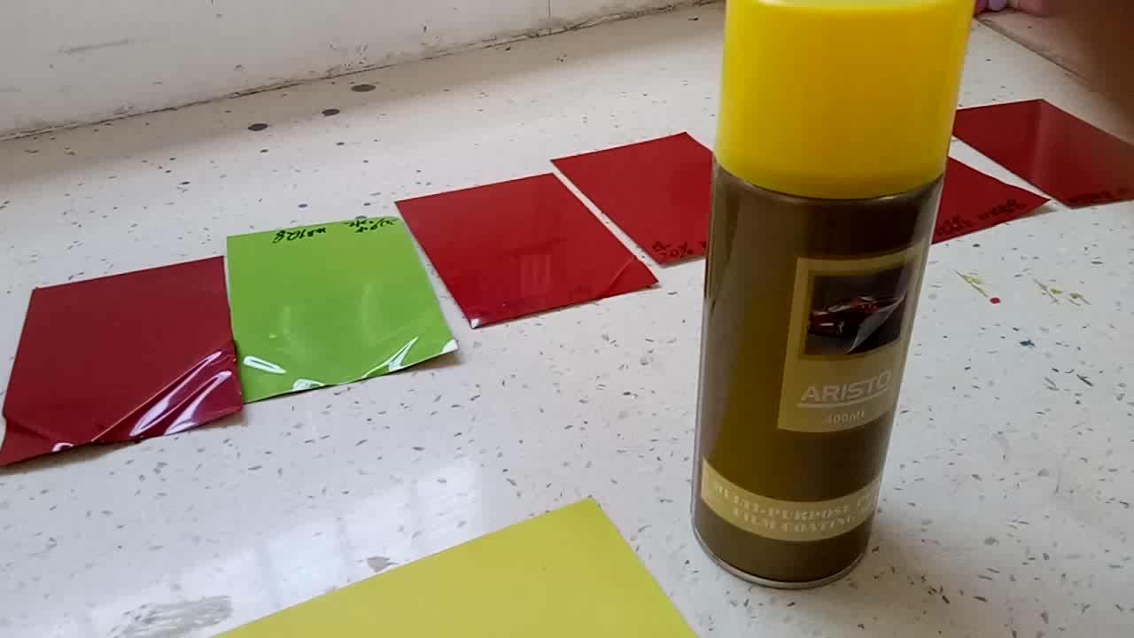 Çıkarılabilir Kauçuk Kaplama Aerosol Sprey, Çok Amaçlı Peelable Film Kaplama Spreyi