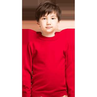 恒源祥男童套头毛线衣儿童羊毛衫